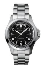 Hamilton Khaki Field King Auto Black Dial Stainless Steel Men's Watch H64455133