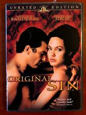 Original Sin (DVD, 2001, Unrated) - E0225