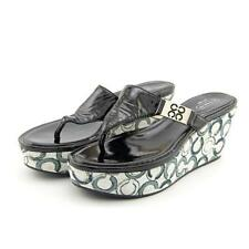 Coach Patent Leather Platforms & Wedges for Women
