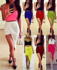 Unbranded Viscose Short/Mini Asymmetrical Skirts for Women