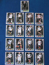 Topps Match Attax Cards - Lot of 17 - Fulham - 2009/10 - Orange Back
