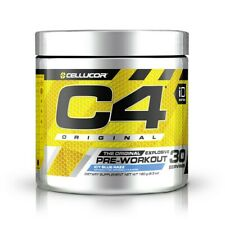 Cellucor C4 iD Energy Pre-Workout Supplement Icy Blue Razz 30 Servings