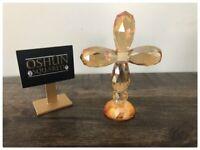Glass Cross Spiritual Boveda | Cruz de Cristal Boveda Espiritual