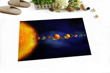 Solar System Planet Bathmat Non-slip Bedroom Floor Rug Kitchen Carpet Door Mat