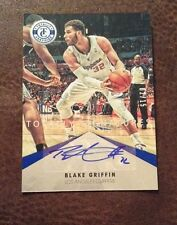 Blake Griffin 2012-13 Panini Totally Certified Signatures BLUE Auto #'d 2/15
