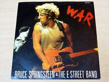 """EX/EX- !! Bruce Springsteen & The E Street Band/War/1986 CBS 7"""" Single"""