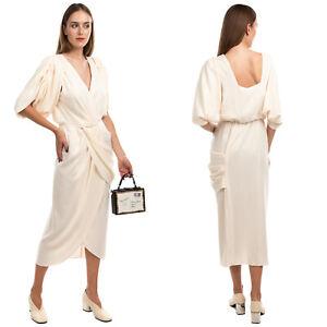 RRP €1135 JOHANNA ORTIZ CLASSIC MEETS CUBA Sheath Dress Size 10 / XL Crossover