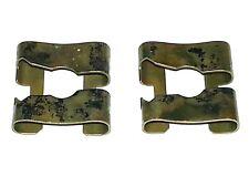 65-74 NOS Side Door Rear Quarter Window Glass Regulator Arm Retainer Clip 2pc GM