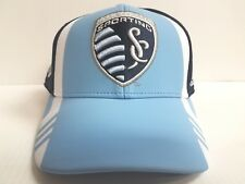 7cbf323fadd Sporting Kansas City Cap Adidas Snapback Hat Official On Field 2017 Soccer  MLS