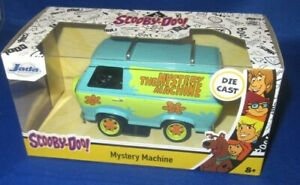 HOLLYWOOD RIDES DIE CAST SCOOBY-DOO MYSTERY MACHINE 1:34, NEW