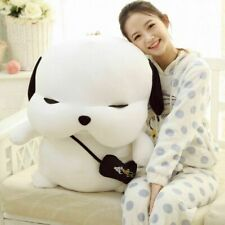 "27"" New Large Size One Korean STRAY DOG PUPPY plush doll toys gift High White"