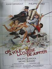 Affiche ON A VOLE LA CUISSE DE JUPITER.120 x 160 cms. Ferracci Noiret Girardot