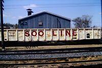Original Slide SOO Line Railroad SOO 63991 Gondola Car 1984