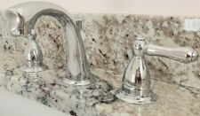 "8"" Widespread Polished Chrome Bathroom Faucet"