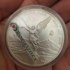 2011 1oz Libertad Mexico .999 Silver Coin Bullion