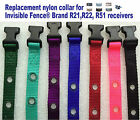 """Invisible Fence Brand R21 R22 R51 Replacement Nylon Collar 3/4"""" 2 Hole 1 5/8"""""""