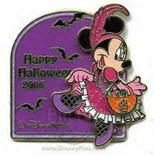 MINNIE In CAN-CAN Costume DANCER TRICK Or TREAT HALLOWEEN 2006 LE WDW DISNEY PIN