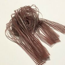 CHICONE'S BARRED BROWN / CLEAR WIDE SILICON LEGS FLY TYING MATERIALS