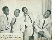 Deep River Boys. Gospel Music Group SIgned Al Bishop Harry Douglas   RJ.630