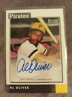 2020 Topps Archives Snapshots Al Oliver Pittsburgh Pirates Base Auto #AS-AO 💎