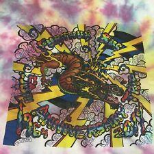 Further Bus 50th Anniversary Trip Tye-Dye Large T-shirt 1964 2014 Can You Pass
