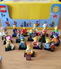 Lego The Simpsons Minifigures Series 2 Complete Full Set 16 BRAND NEW 71009