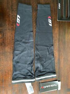Garneau Cycling Arm Warmers 2 Black HeatMaxx