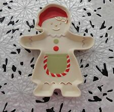 Lenox Gingerbread Girl Candy Dish . Brand New In Box