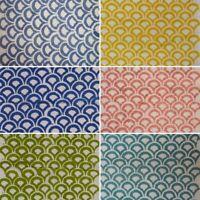 100% Cotton Fabric Running Flower Printed Sanganeri Dressmaking Material Vintage