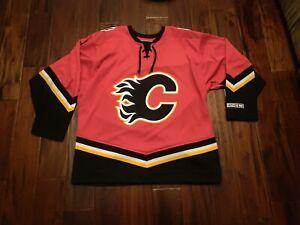 Calgary Flames NHL Jersey CCM Men's Large