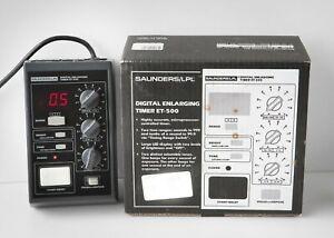 Saunders / LPL ET-500 Darkroom Digital Enlarging Timer
