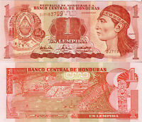 Honduras Banknote UNC 1 Lempira 2004 Banco Central de Honduras P-84d SELTEN