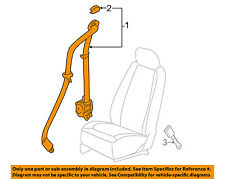 GM OEM Front Seat Belts-Retractor Assembly Right 19169207