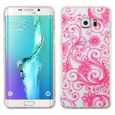 Carcasas Para Samsung Galaxy S6 color principal rosa para teléfonos móviles y PDAs