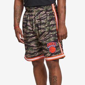Mitchell Ness New York Knicks 1991-92 MILITARY TIGER CAMO EWING Swingman Shorts