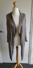 Cardigan MADE IN ITALY 14 16 BNWT SUGABABE asymmetric 3/4 sleeves silk angora