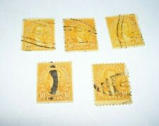 James Monroe 10 Cent Stamp Scott #562 Set of 5