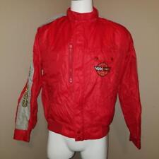 Vtg 1986 Indy Pace Car Corvette Jacket M - Horizon Sportswear Shiny Nylon RARE