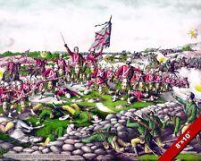 BATTLE OF BELMONT PAINTING SECOND BOER WAR ART BRITISH HISTORY REAL CANVASPRINT