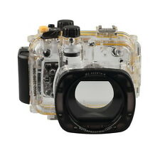 Meikon 40M 130ft WaterProof Diving Camera Housing Case Cover For Canon EOS G15