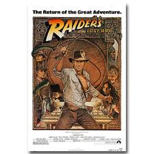 "Indiana Jones and the Last Crusade Movie Art Silk Poster Print 13x20 24x36"""