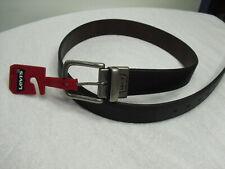 Levi's Men's  Reversible Belt Brown Black Size Medium (34-36) NWT