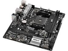 ASRock AB350M AM4 AMD Promontory B350 SATA 6Gb/s USB 3.0 Micro ATX AMD Motherboa