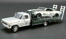 1969 Ford Mustang + F-350 Ramp Truck ALAN MOFFATT #33 **Greenlight Acme 1:64 NEU