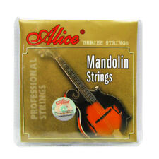 NEW 1Set Mandolin Strings 8 Strings Steel & Silver-Plated Copper Wound Strings