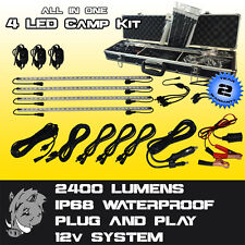 LED Camp Kit - Camping, Caravans, Camper Trailers, Emergency, 4WD and more!!