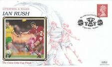 40716 GB Housse Ian Rush Liverpool FC Coca Cola Coupe Finale Wembley 2 May 1995