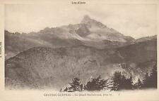 EARLY 1900's VINTAGE POSTCARD - Chateau-Queyras, Le Grand Rochbrune, Les Alpes