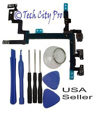 iPhone 5 5G Power Mute Volume Button Flex Cable Quality Apple (OEM) w/ Tools