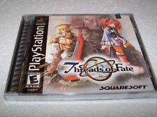THREADS OF FATE - Playstation 1 PS1 - USA - NEW & FACTORY SEALED NR MINT RPG